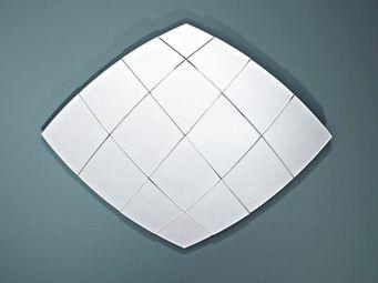 WHITE LABEL - tracks miroir mural design en verre - Miroir