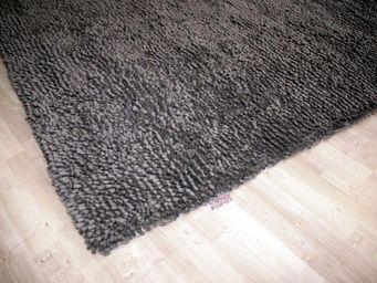 WHITE LABEL - venice tapis épais gris 170x240 cm - Tapis Contemporain
