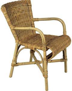 Aubry-Gaspard - fauteuil en poelet hutte - Fauteuil De Jardin