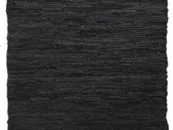 Aubry-Gaspard - tapis en cuir et coton - Tapis Contemporain