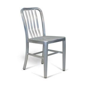 DECO PRIVE - chaise design navy en métal - Chaise