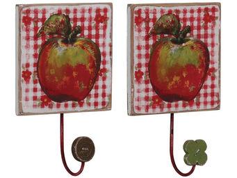 Interior's - crochet pommes - Patère