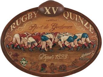 Interior's - enseigne rugby sport gentlemen - Cadre Photo