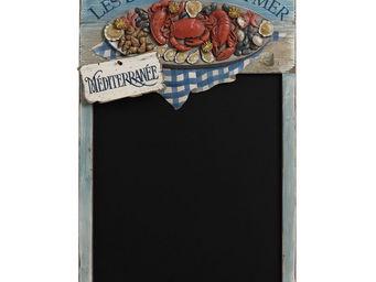 Interior's - menu fruits de mer - Ardoise Murale