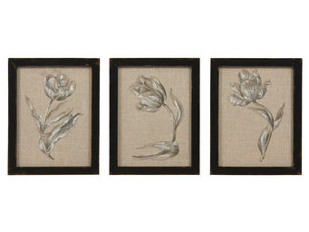 Interior's - cadre tulipe clair obscur - Tableau D�coratif