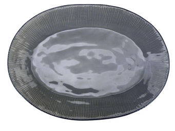 Interior's - plat gris - Plat Ovale