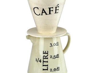 Interior's - coffret tasse, cafetière et couvercle - Bol