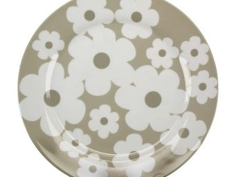 Interior's - assiette plate marguerite - Assiette Plate