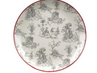 Interior's - assiette plate toile de jouy - Assiette Plate