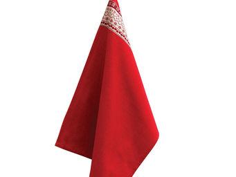 Interior's - torchon rouge - Torchon