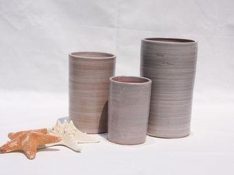 Les Poteries Clair de Terre - tamarin - Vase À Fleurs