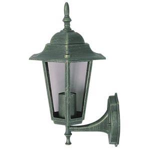 WHITE LABEL - lampe murale de jardin éclairage extérieur - Lanterne Potence
