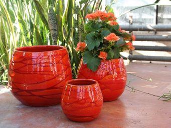 Les Poteries D'albi - cancale - Pot De Fleur