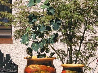 Les Poteries D'albi - pivoine - Pot De Jardin