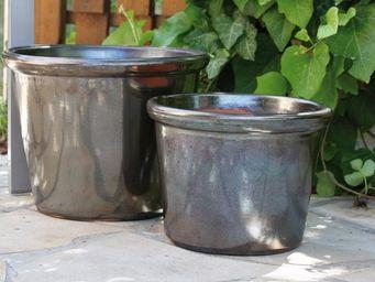 Les Poteries D'albi - vase droit - Pot De Jardin