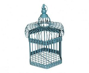 Demeure et Jardin - cage d�corative � suspendre - Cage � Oiseaux