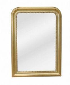 Demeure et Jardin - glace dorée style louis philippe - Miroir