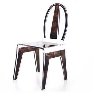 Mathi Design - chaise industrielle acrila - Chaise
