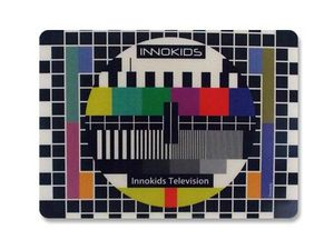 WHITE LABEL - tapis informatique mire de télévision tapis de sou - Tapis De Souris
