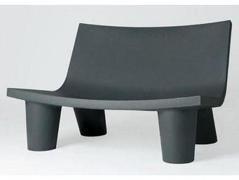 Mathi Design - canapé slide low lita - Banc De Jardin