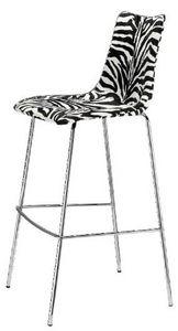 Mathi Design - tabouret zebre - Chaise Haute De Bar