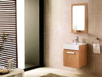 UsiRama.com - meuble salle de bain moderne july rangement 50cm - Meuble De Salle De Bains
