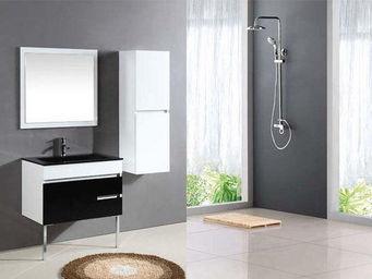 UsiRama.com - meuble salle de bain pas cher clavier 80cm - Meuble De Salle De Bains