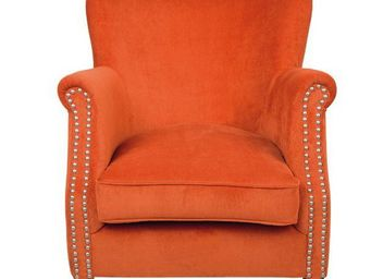 BLANC D'IVOIRE - claude pm orange - Fauteuil