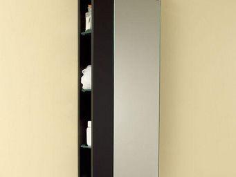 UsiRama.com - colonne suspendue design fonctionnel 1m - Meuble De Salle De Bains