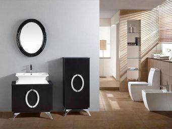 UsiRama.com - meuble salle de bain design ooo 82cm - Meuble De Salle De Bains
