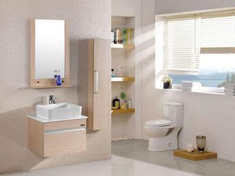 UsiRama.com - meuble salle de bain le thé au lait 60cm - Meuble Vasque