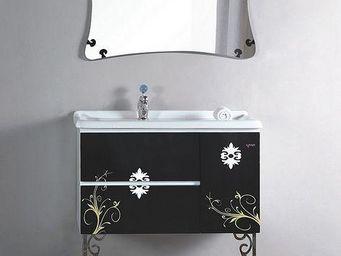 UsiRama.com - meuble vasque salle de bain luxe celeste 90cm - Meuble Vasque