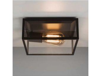 ASTRO LIGHTING - plafonnier extérieur bronte transparent - Plafonnier D'extérieur