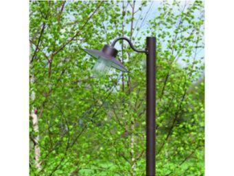 Roger Pradier - bec de gaz lumineux belcour n°4 simple - Lampadaire De Jardin