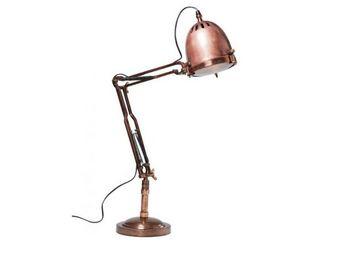 Kare Design - lampe de table rifugio cuivre - Lampe De Bureau