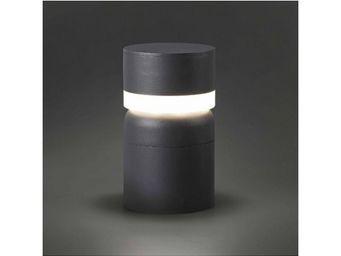 FARO - borne lumineuse sete led gris foncé - Borne D'extérieur