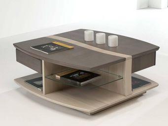 Ateliers De Langres - oceane - Table Basse Carrée