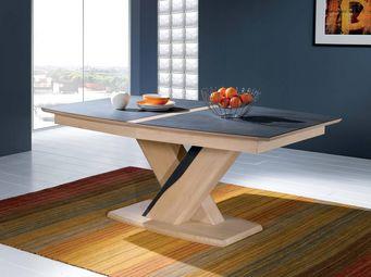 Ateliers De Langres - ceram - table plateau ceramique - Table De Repas Rectangulaire