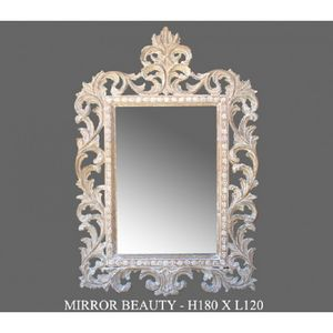 DECO PRIVE - miroir ceruse modele beauty - Miroir