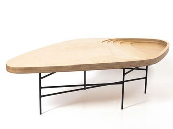 MALHERBE EDITION - table basse fidji - Table Basse Forme Originale