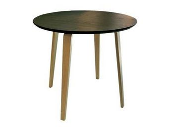 MyCreationDesign - lack noir - Table De Repas Ronde