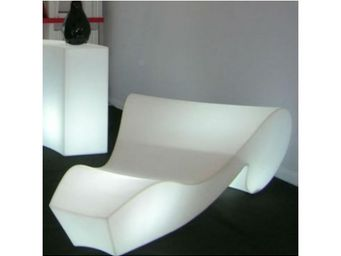 TossB - chaise longue lumineuse rococo light - Fauteuil De Jardin Lumineux