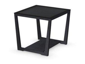 WHITE LABEL - table basse element de calligaris graphite avec pl - Table Basse Carr�e