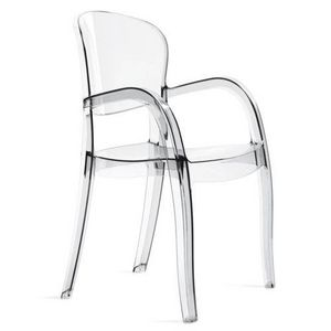 WHITE LABEL - chaise joker design transparente - Chaise