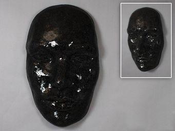 WHITE LABEL - masque extase noire. - Masque