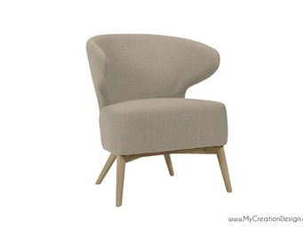 MyCreationDesign - pat taupe - Fauteuil