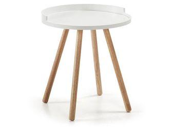 MyCreationDesign - vasco blanc - Table D'appoint