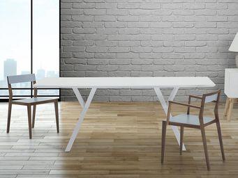 BELIANI - tables - Table De Repas Rectangulaire