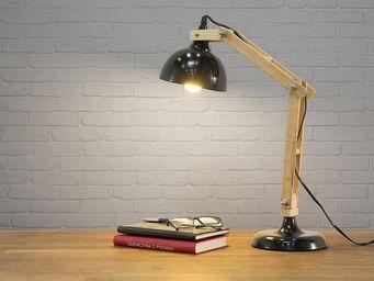 BELIANI - lampes � poser - Lampe De Bureau