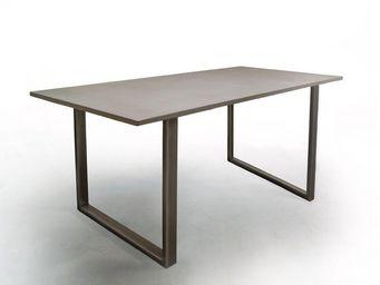 MALHERBE EDITION - table t2 - Table De Repas Rectangulaire